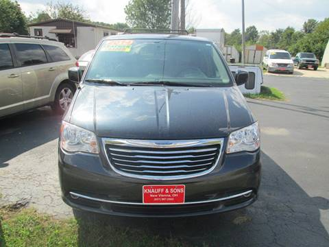 2014 Chrysler Town and Country for sale at Knauff & Sons Motor Sales in New Vienna OH