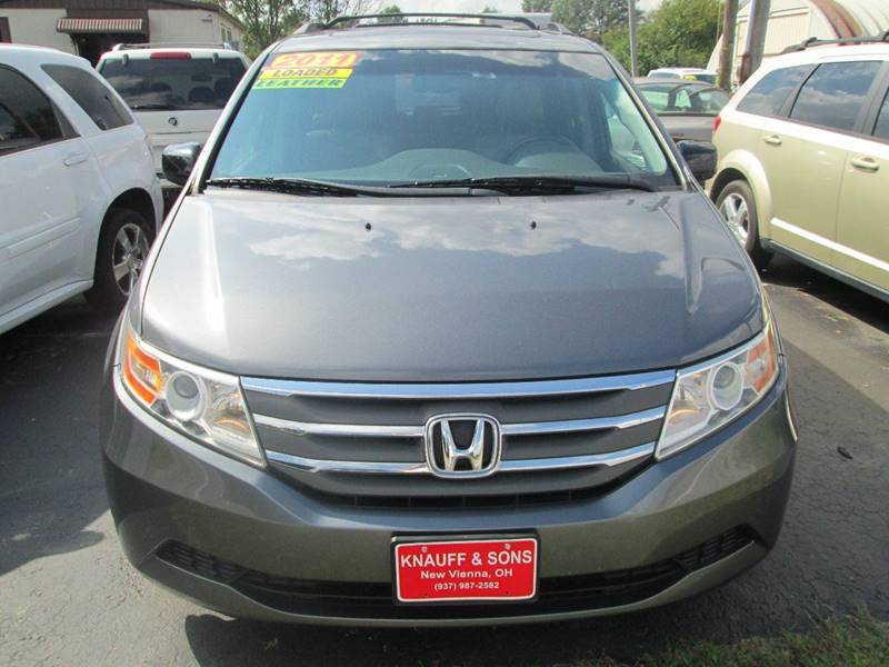 2011 Honda Odyssey for sale at Knauff & Sons Motor Sales in New Vienna OH