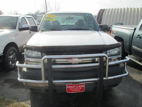 2004 Chevrolet Silverado 2500HD for sale at Knauff & Sons Motor Sales in New Vienna OH