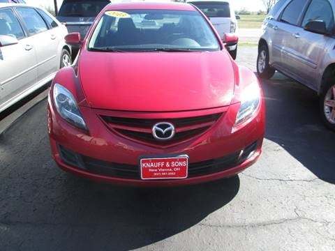 2013 Mazda MAZDA6 for sale at Knauff & Sons Motor Sales in New Vienna OH