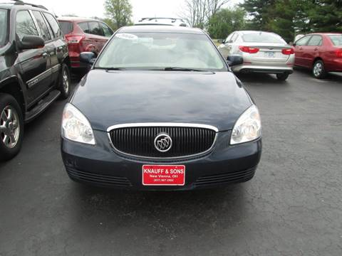 2006 Buick Lucerne for sale at Knauff & Sons Motor Sales in New Vienna OH