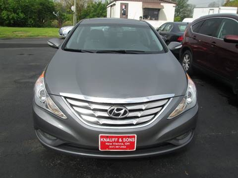 2013 Hyundai Sonata for sale at Knauff & Sons Motor Sales in New Vienna OH