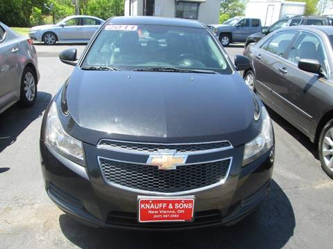 2011 Chevrolet Cruze for sale at Knauff & Sons Motor Sales in New Vienna OH