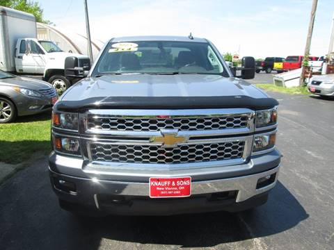 2015 Chevrolet Silverado 1500 for sale at Knauff & Sons Motor Sales in New Vienna OH