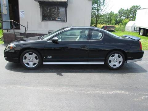 2006 Chevrolet Monte Carlo for sale at Knauff & Sons Motor Sales in New Vienna OH