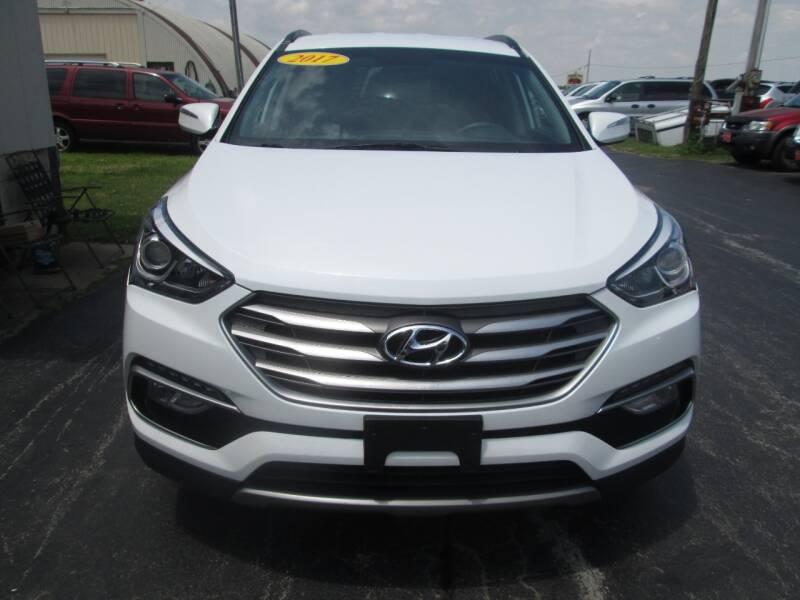 2017 Hyundai Santa Fe Sport for sale at Knauff & Sons Motor Sales in New Vienna OH