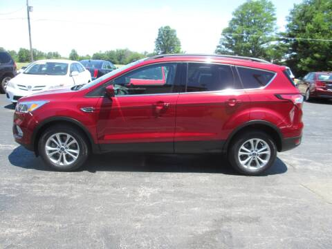 2018 Ford Escape for sale at Knauff & Sons Motor Sales in New Vienna OH