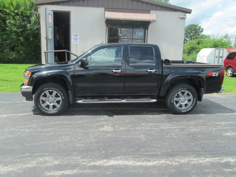 2012 Chevrolet Colorado for sale at Knauff & Sons Motor Sales in New Vienna OH