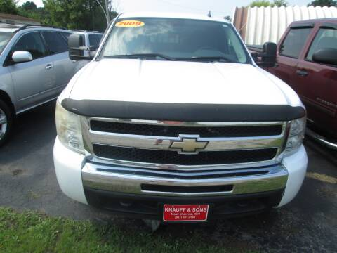 2009 Chevrolet Silverado 1500 for sale at Knauff & Sons Motor Sales in New Vienna OH