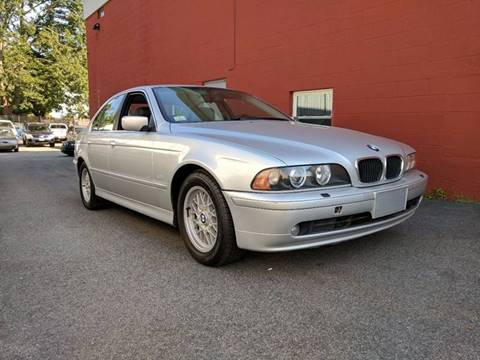 2002 BMW 5 Series for sale at J & T Auto Sales in Warwick RI