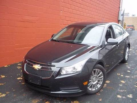 2012 Chevrolet Cruze for sale at J & T Auto Sales in Warwick RI