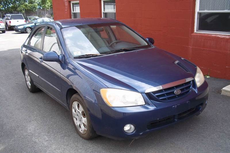 2005 Kia Spectra for sale at J & T Auto Sales in Warwick RI