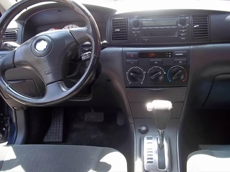 2003 Toyota Corolla for sale at J & T Auto Sales in Warwick RI