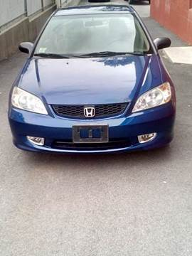 2004 Honda Civic for sale at J & T Auto Sales in Warwick RI