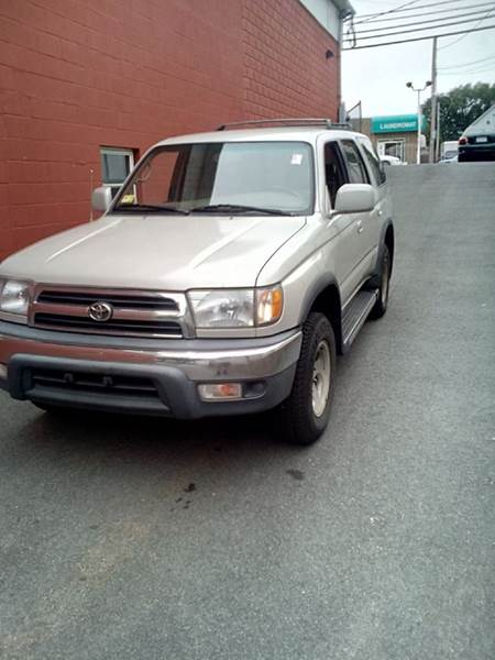 1999 Toyota 4Runner for sale at J & T Auto Sales in Warwick RI