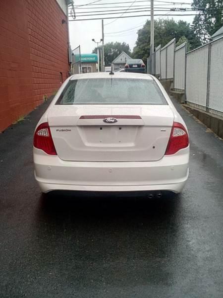 2011 Ford Fusion for sale at J & T Auto Sales in Warwick RI