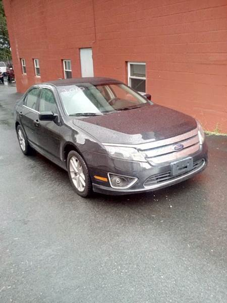 2010 Ford Fusion for sale at J & T Auto Sales in Warwick RI