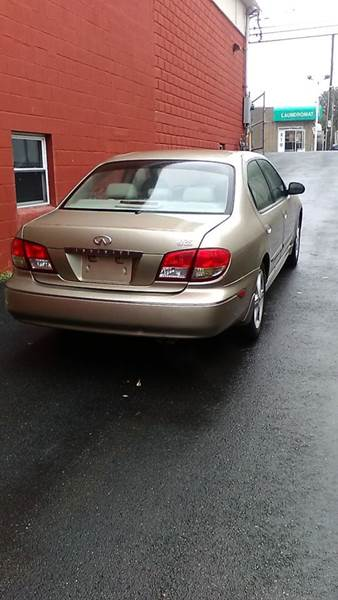 2002 Infiniti I35 for sale at J & T Auto Sales in Warwick RI