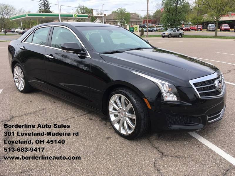 2013 Cadillac Ats 2 0t Luxury 4dr Sedan In Loveland Oh Borderline