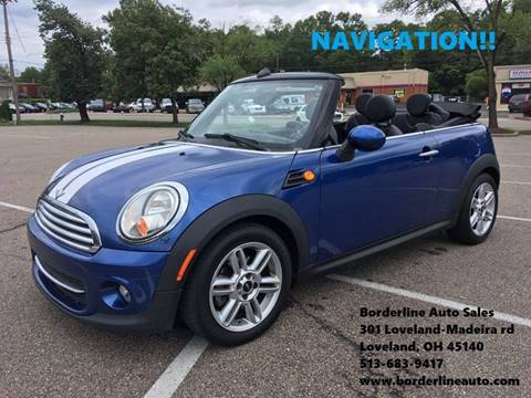 Used Mini Cooper Convertible >> 2012 Mini Cooper Convertible For Sale In Loveland Oh