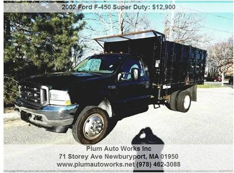 2002 Ford F-450 Super Duty for sale in Newburyport, MA