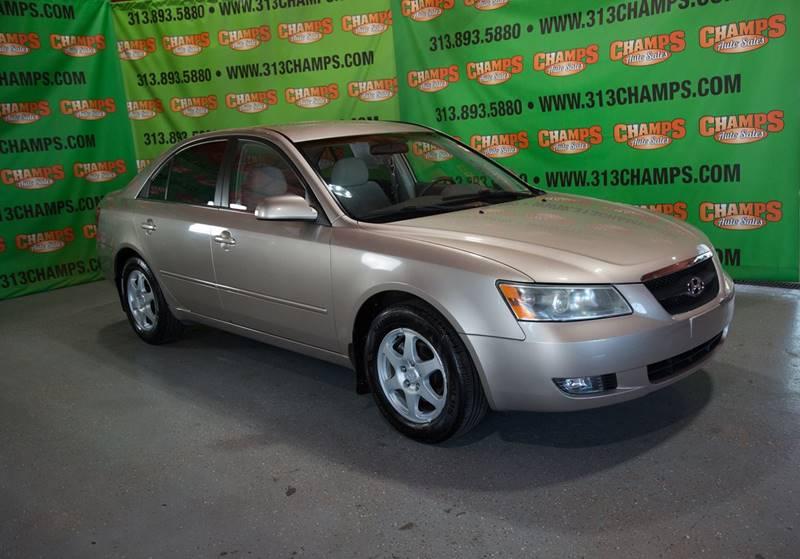 2006 Hyundai Sonata car for sale in Detroit