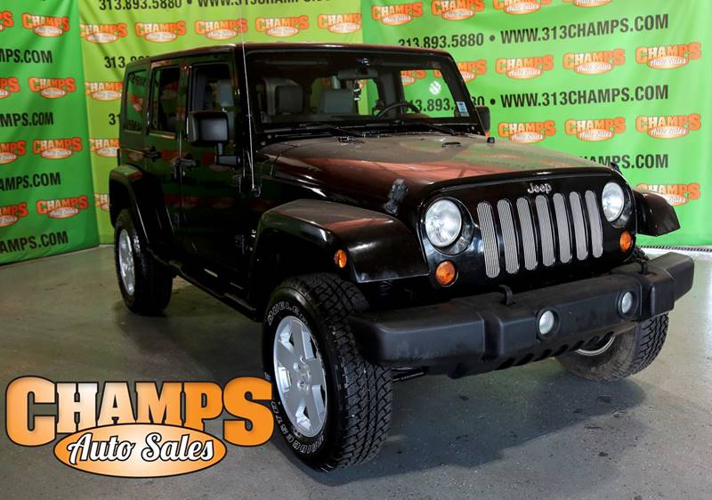2007 Jeep Wrangler Unlimited car for sale in Detroit