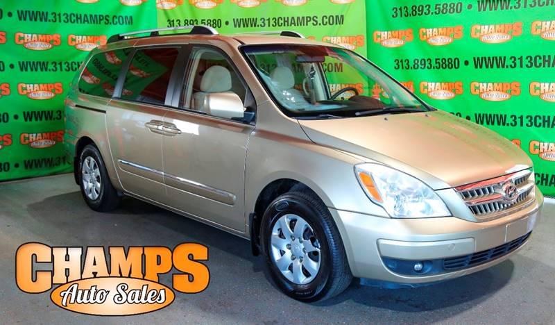 2007 Hyundai Entourage car for sale in Detroit