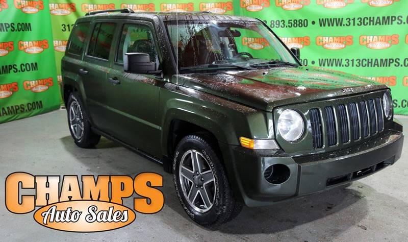 2008 Jeep Patriot car for sale in Detroit
