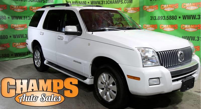 2007 Mercury Mountaineer car for sale in Detroit