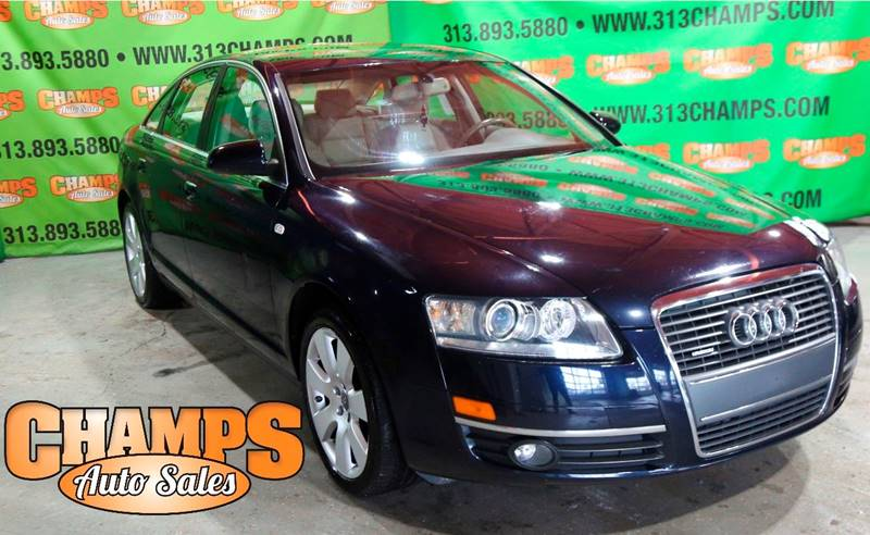 2007 Audi A6 car for sale in Detroit
