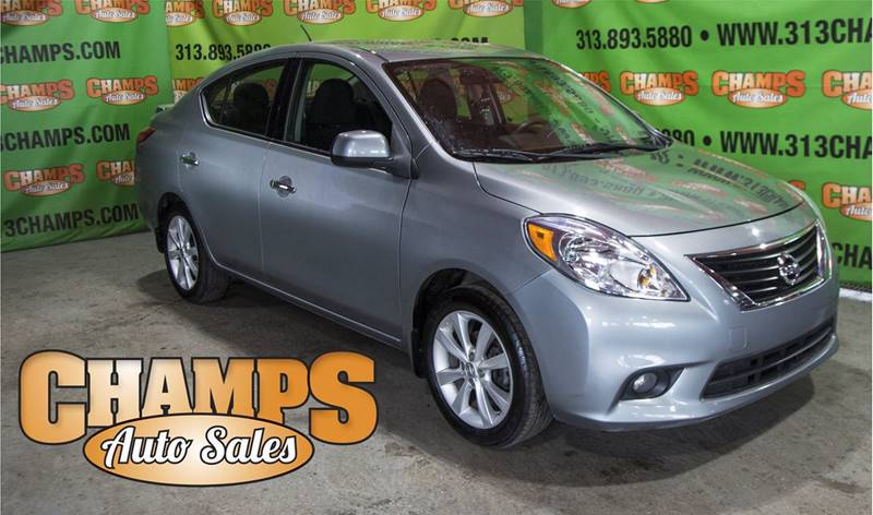 Detroit Used Car for Sale 2014 Nissan Versa 48203 at Champs Auto ...