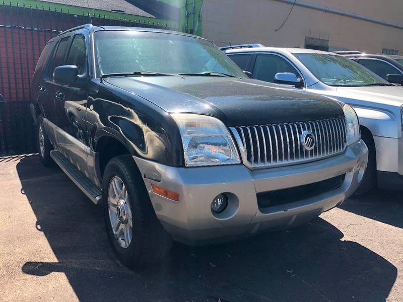 2003 Mercury Mountaineer car for sale in Detroit
