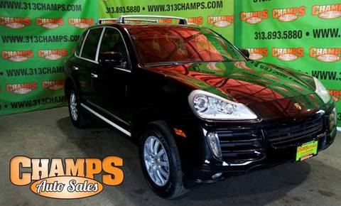 2013 Porsche Cayenne for sale in Detroit, MI
