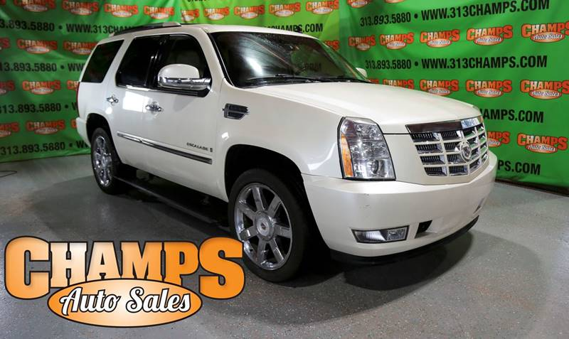 2009 Cadillac Escalade In Detroit Mi Champs Auto Sales