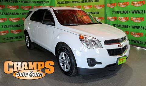 2013 Chevrolet Equinox for sale at Champs Auto Sales in Detroit MI