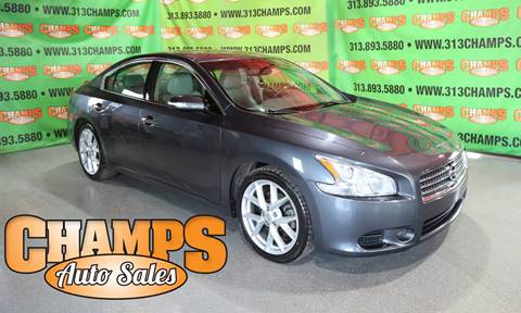 2009 Nissan Maxima for sale at Champs Auto Sales in Detroit MI