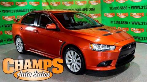2009 Mitsubishi Lancer for sale at Champs Auto Sales in Detroit MI