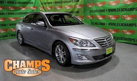 2013 Hyundai Genesis for sale at Champs Auto Sales in Detroit MI