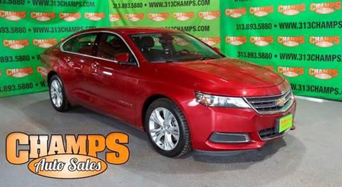 2014 Chevrolet Impala for sale at Champs Auto Sales in Detroit MI