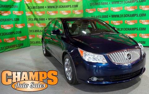 2012 Buick LaCrosse for sale at Champs Auto Sales in Detroit MI