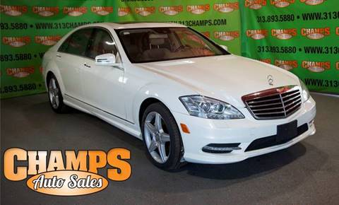 2012 Mercedes-Benz S-Class for sale in Detroit, MI