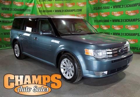 2010 Ford Flex for sale at Champs Auto Sales in Detroit MI