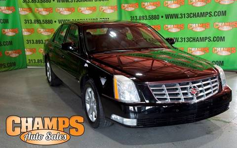 2006 Cadillac DTS for sale at Champs Auto Sales in Detroit MI