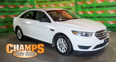 2014 Ford Taurus for sale at Champs Auto Sales in Detroit MI
