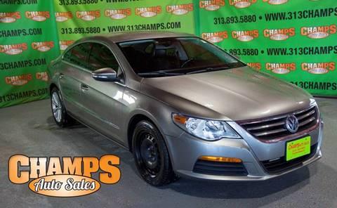2011 Volkswagen CC for sale at Champs Auto Sales in Detroit MI