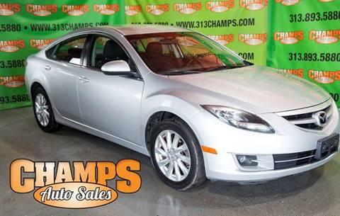 2012 Mazda MAZDA6 for sale at Champs Auto Sales in Detroit MI