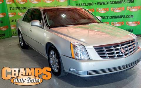2009 Cadillac DTS for sale at Champs Auto Sales in Detroit MI
