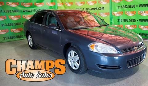 2008 Chevrolet Impala for sale at Champs Auto Sales in Detroit MI