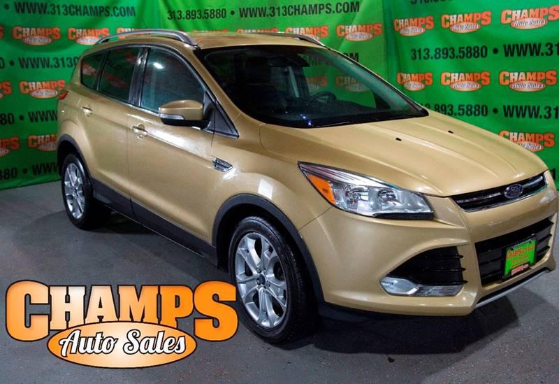 Champfo Auto : 2014 ford escape titanium in detroit mi champs auto sales ~ Gottalentnigeria.com Avis de Voitures